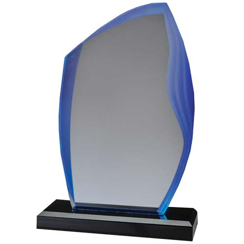Blue Peak Acrylic Desk Award