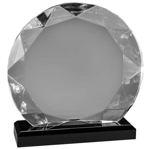 Glacier Gem Acrylic Desk Award