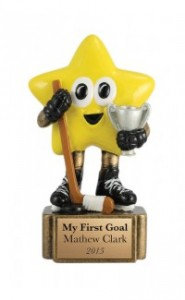 Cartoon Hockey Star