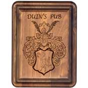 Lasered Wood Plaques