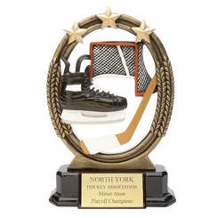 Resin Hockey Trophies