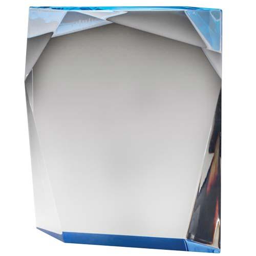 Blue Stand Acrylic Desk Award