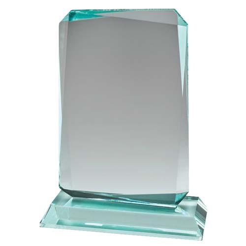 Jade Bevel Peak Desk Award