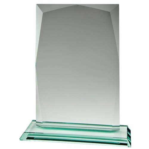 Jade Beveled Desk Award