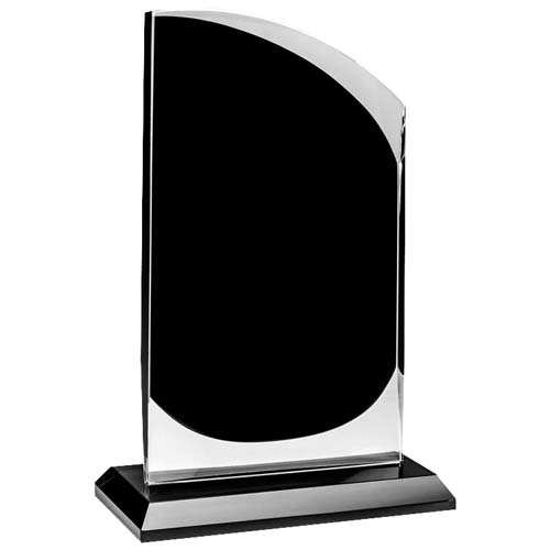 Chrome Round Peak Desk Award
