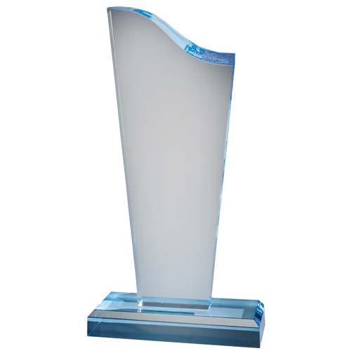 Sapphire Tower Acrylic Desk Award
