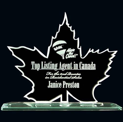 Maple Leaf Desk Award