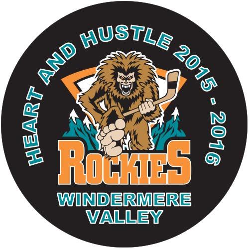 rockies hockey team pucks
